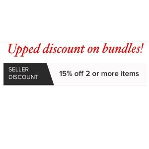 Other - Upped discount on my bundles!!